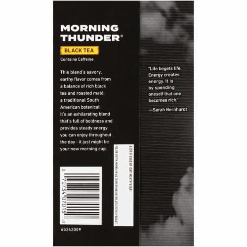 Celestial Seasonings® Morning Thunder Black Tea Bags Perspective: back