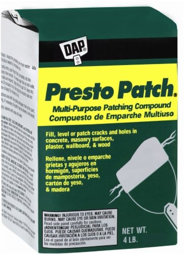 DAP® Presto Patch® Multi-Purpose Patching Compound - White Perspective: back