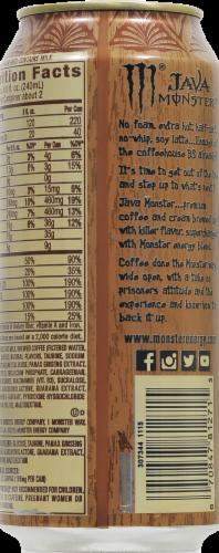 Java Monster Loca Moca Coffee + Energy Perspective: back