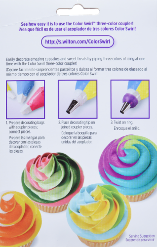 Wilton Color Swirl Decorating Set Perspective: back