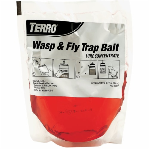 Terro 6.7 Oz. Liquid Outdoor Wasp & Fly Bait Refill T513 Perspective: back