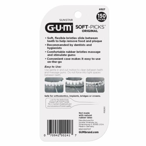 GUM Original Soft-Picks Perspective: back