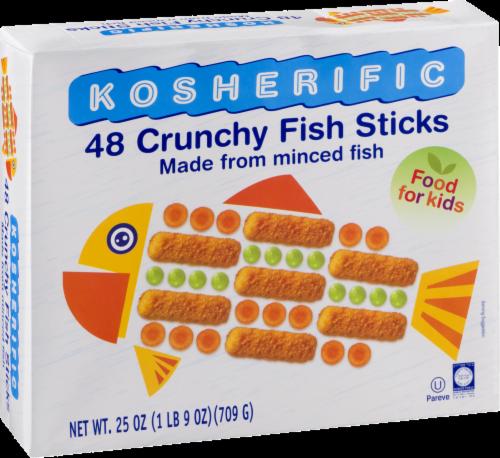 Kosherific Crunchy Fish Sticks Perspective: back