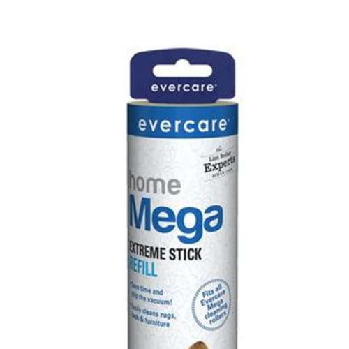 evercare Pet Mega Extreme Surface Coverage 50 Layer Lint Roller Refill, 6 Pack Perspective: back