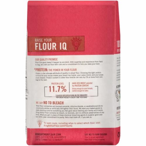 King Arthur Flour Unbleached All-Purpose Flour Perspective: back