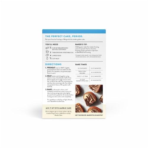 King Arthur Flour Gluten Free Yellow Cake Mix Perspective: back