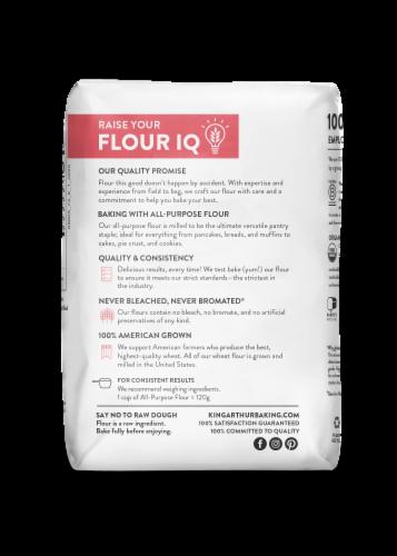 King Arthur Flour Flour Organic All-Purpose Flour Perspective: back