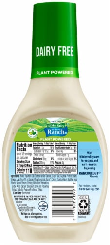Hidden Valley® Plant Powered Dairy-Free Original Ranch Dressing Perspective: back