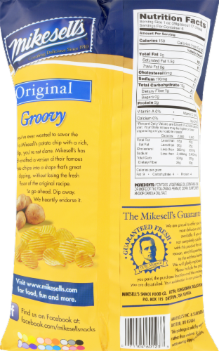 Mikesell's Groovy Potato Chips Perspective: back
