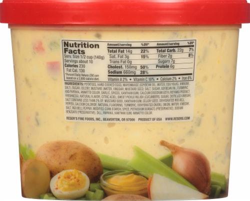Reser's® Deviled Egg Potato Salad Perspective: back