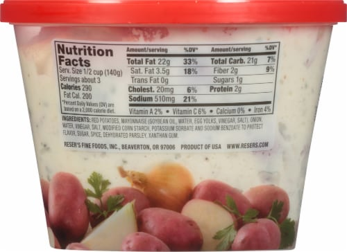 Reser's® Red Skin Potato Salad Perspective: back