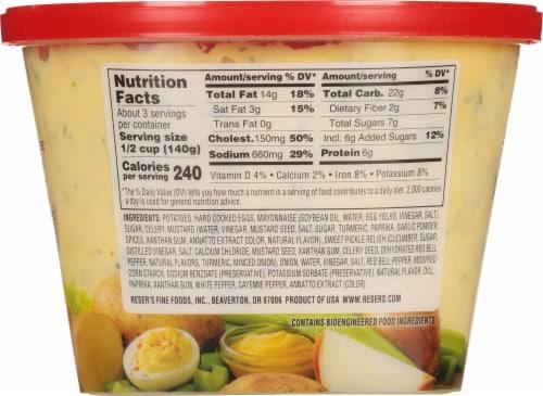 Reser's® Fine Foods Deviled Egg Potato Salad Perspective: back
