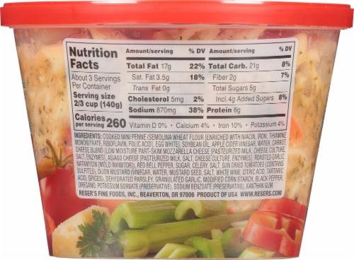 Reser's Garden Pasta Salad Perspective: back