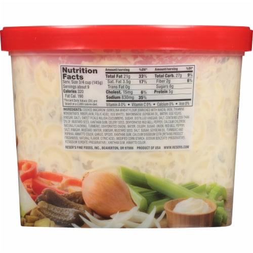 Reser's American Macaroni Salad Perspective: back