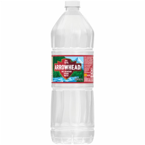 Arrowhead 100% Mountain Spring Water Perspective: back