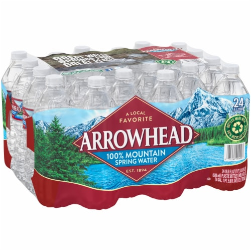 Arrowhead Mountain Spring Water Perspective: back