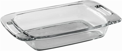Pyrex Easy Grab Baking Dish - Clear Perspective: back