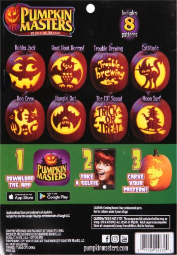 Pumpkin Masters® All in One Pumpkin Carving Kit Perspective: back