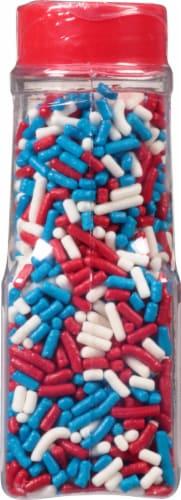 Betty Crocker™ Red White & Blue Sprinkles Perspective: back