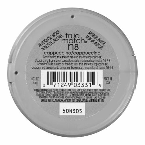 L'Oreal® Paris True Match® Cappuccino Super-Blendable Powder Perspective: back
