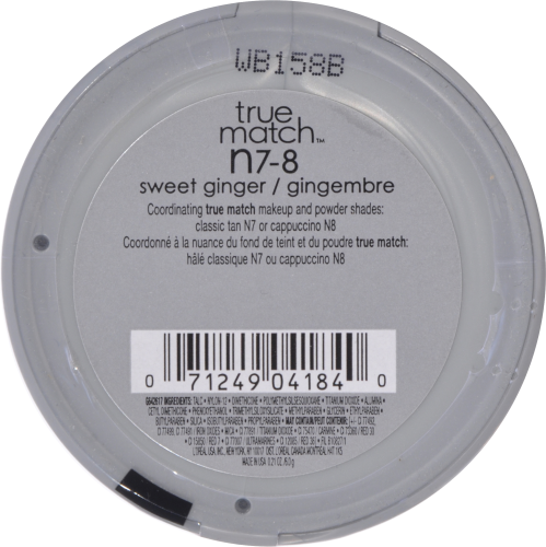 L'Oreal Paris True Match Sweet Ginger Super-Blendable Blush Perspective: back