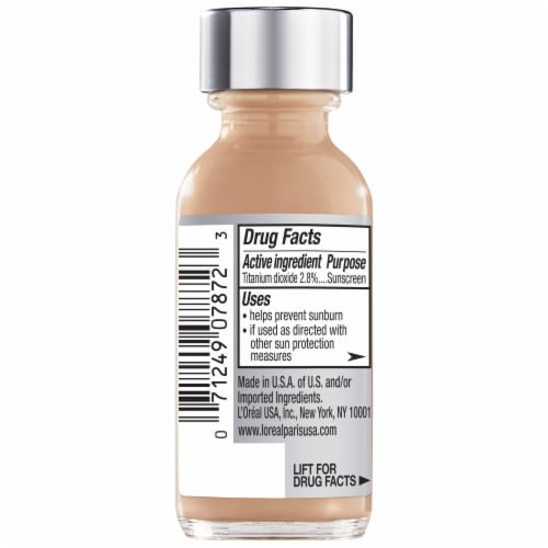 L'Oreal Paris True Match Super Blendable Liquid Foundation – Neutral Honey Beige N6 Perspective: back
