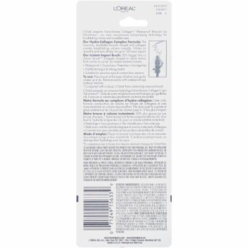 L'Oreal Paris Voluminous Extra-Volume Collagen 695 Blackest Black Mascara Perspective: back