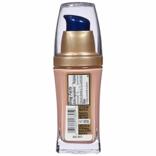 L'Oreal Paris Visible Lift Creamy Natural Serum Absolute Foundation Perspective: back