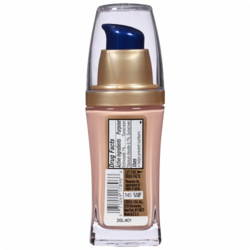 L'Oreal Paris Visible Lift Classic Ivory Serum Absolute Foundation Perspective: back