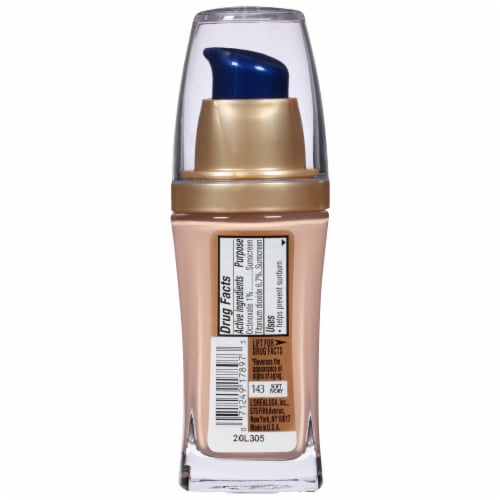 L'Oreal Paris Visible Lift Soft Ivory Serum Absolute Foundation Perspective: back