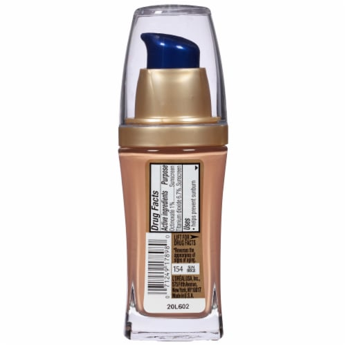 L'Oreal Paris Visible Lift Sun Beige Serum Absolute Foundation Perspective: back