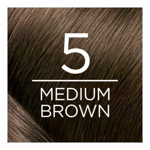 L'Oreal Paris Excellence Creme 5 Medium Brown Hair Color Kit Perspective: back