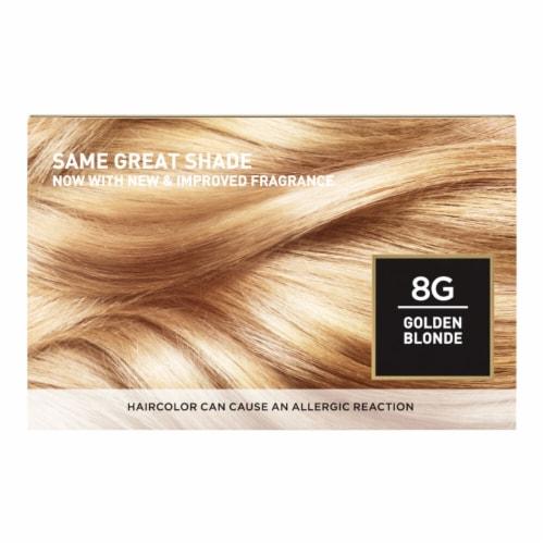 L'Oreal Paris Superior Preference Permanent Hair Color Kit - Golden Blonde 8G Perspective: back