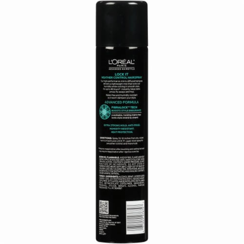L'Oreal Paris Advanced Hairstyle Lock it Weather Control Hairspray Perspective: back