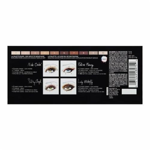 L'Oreal Paris Color Pallette Nude Eyeshadow Perspective: back