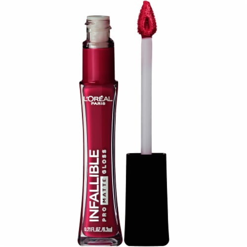 L'Oreal Paris Infallible Pro Matte 304 Rebel Rose Lip Gloss Perspective: back