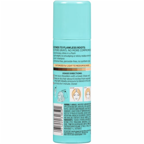 L'Oreal Paris Magic Root Cover Up Temporary Gray Concealer Spray - Light to Medium Blonde Perspective: back