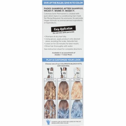 L'Oreal Paris Colorista 600 Blue Semi-Permanent Color Perspective: back