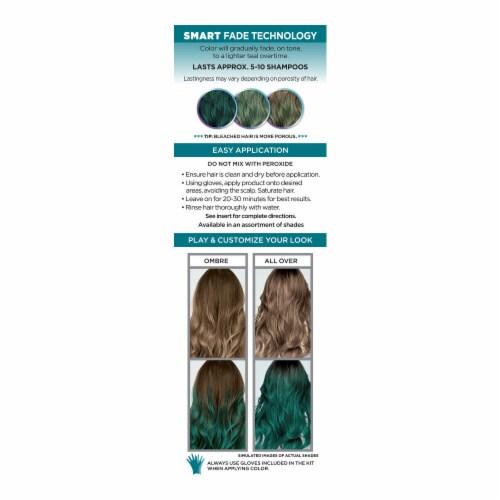 L'Oreal® Paris Colorista Teal 10 Semi-Permanent Hair Color Perspective: back