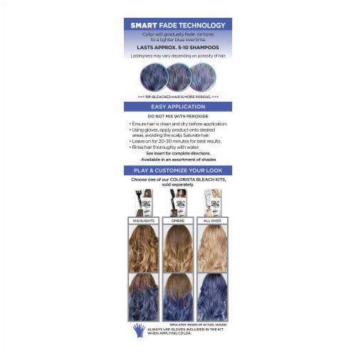 L'Oreal Paris Colorista 500 Indigo Semi-Permanent Hair Color Perspective: back