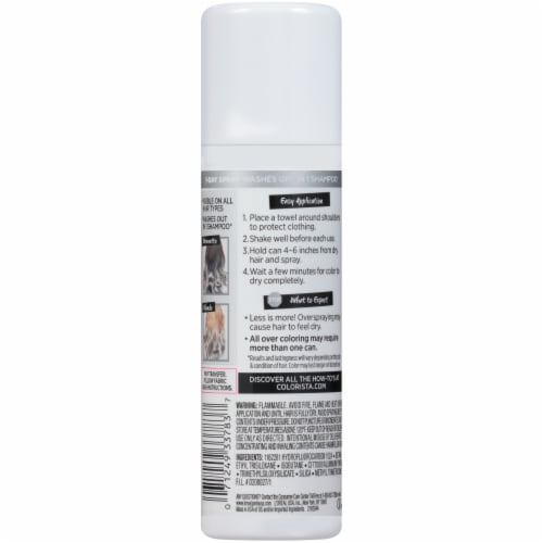 L'Oreal Paris Colorista Silver 01 1-Day Hair Color Spray Perspective: back