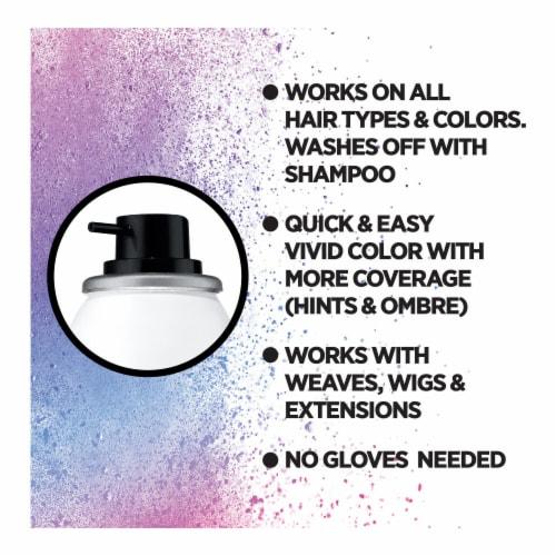 L'Oreal Paris Colorista Purple 200 1-Day Hair Color Spray Perspective: back