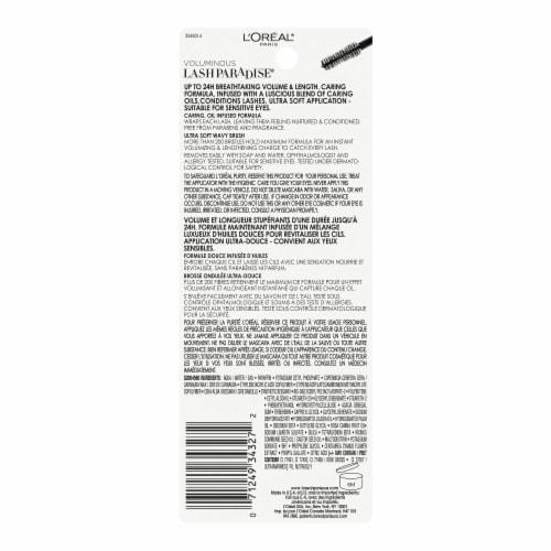 L'Oreal® Paris Voluminous Lash Paradise 202 Blackest Brown Mascara Perspective: back