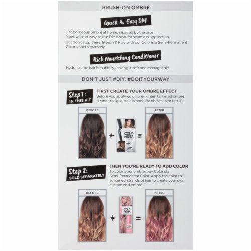 L'Oreal® Paris Colorista Bleach Ombre Hair Color Perspective: back