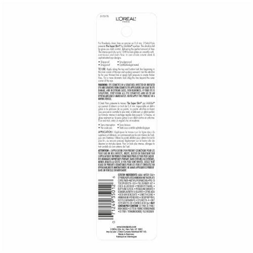 L'Oreal Paris Infallible Super Slim 401 Brown Liquid Eyeliner Perspective: back