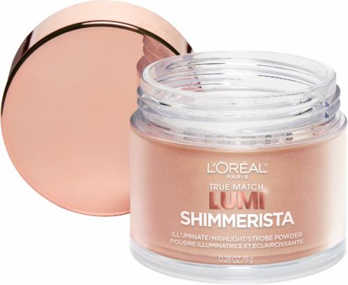 L'Oreal Paris True Match Lumi Shimmerista Sunlight Illuminate & Highlight Strobe Powder Perspective: back