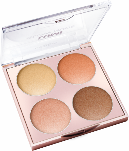 L'Oreal Paris True Match Lumi Glow 750 Sunkissed Nude Highlighter Palette Perspective: back