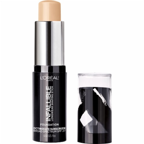 L'Oreal Paris Infallible Longwear Shaping Stick Nude Beige Foundation Perspective: back