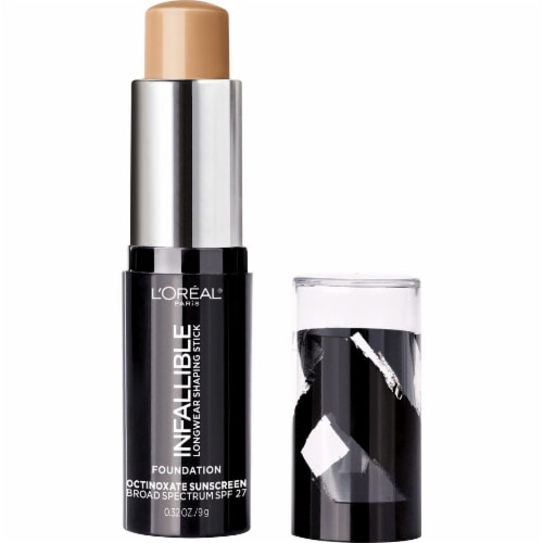 L'Oreal Paris Infallible Longwear Shaping Stick Tan Foundation Perspective: back