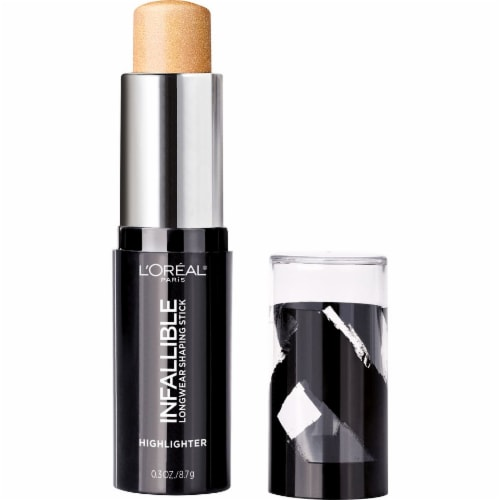 L'Oreal Paris Infallible Longwear Shaping Stick Gold is Cold Highlighter Perspective: back